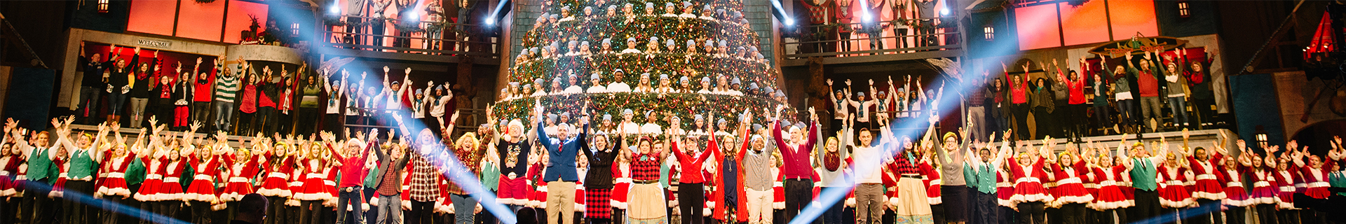 Singing Christmas Tree - Bellevue Baptist Church | Brushfire