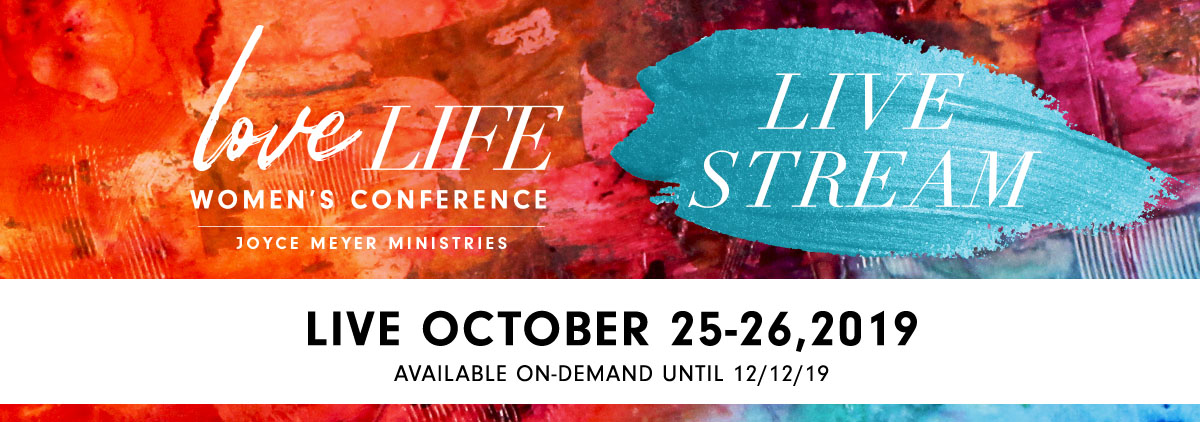 Live Stream - Love Life Women's Conference 2019 - Joyce