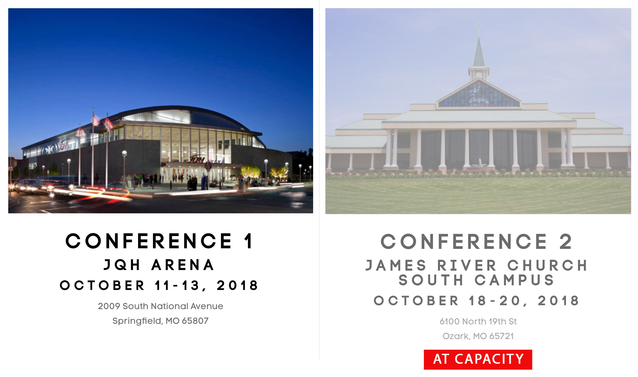 Conference Locations