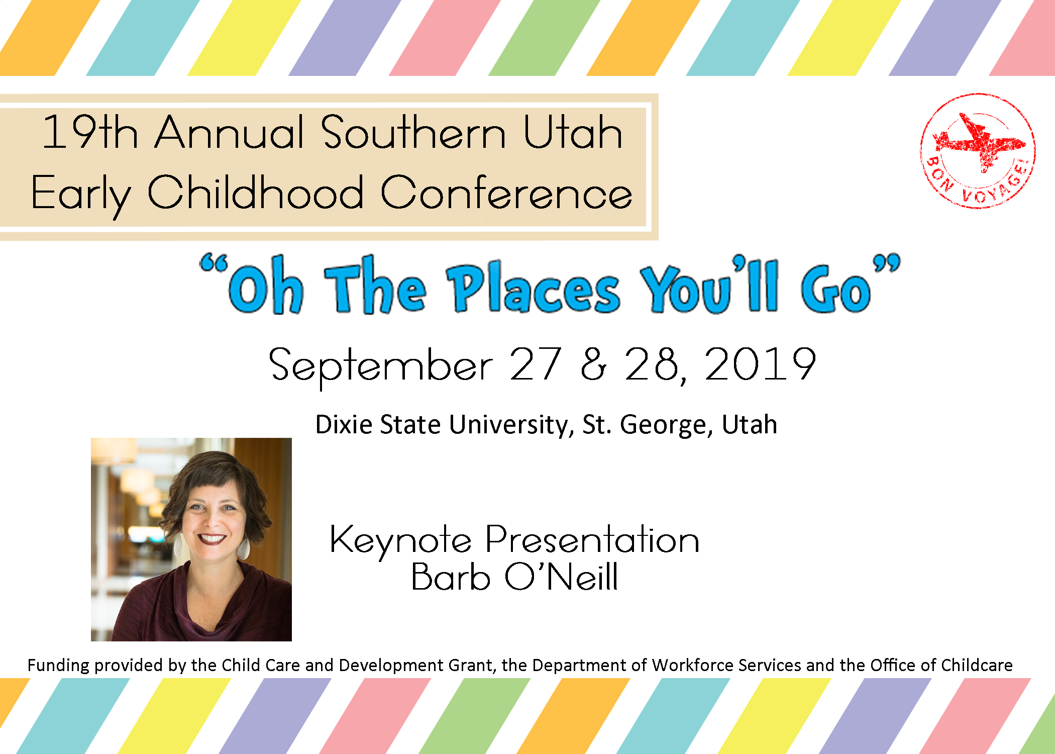 """19th Annual Southern Utah Early Childhood Conference!! -""""Oh"""